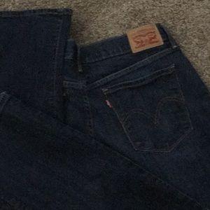 Levi 505 Regular Fit Stretch Jeans New w/o tags